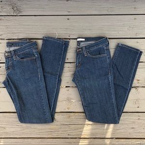 TWO Pairs of Flying Monkey Jeans